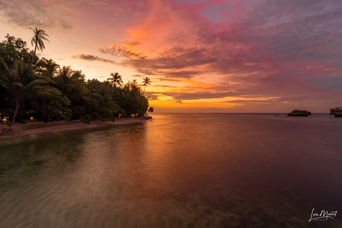 Sunset wakatobi Indonesia